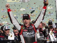 Jeff Gordon claimed victory in Phoenix