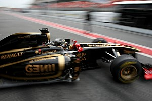 Formula 1 Lotus Renault Barcelona test report 2011-03-08