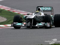 Better mood at Mercedes as new package arrives