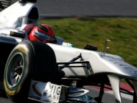 Schumacher fastest on penultimate day at Barcelona
