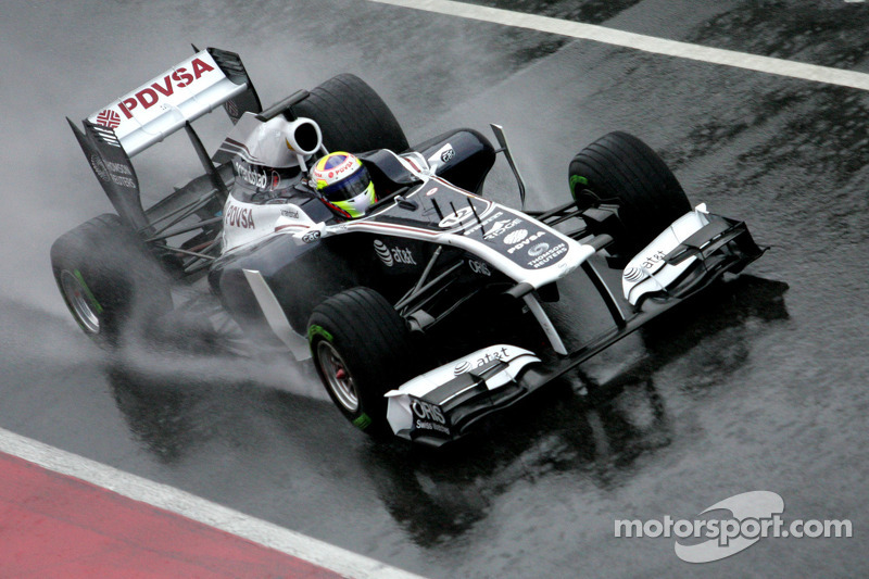 Williams Barcelona test report 2011-03-12