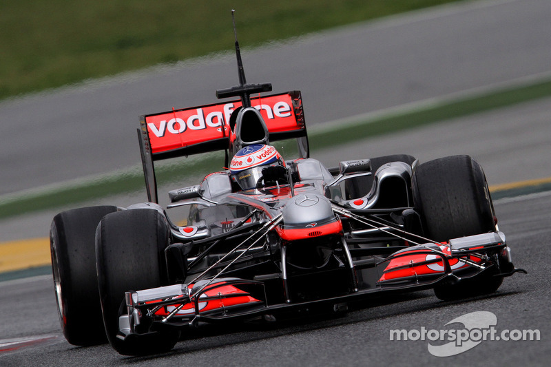 McLaren has least reliable car for 2011