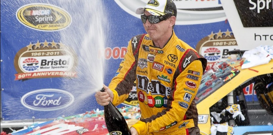 Kyle Busch takes another Sprint Cup win at Bristol