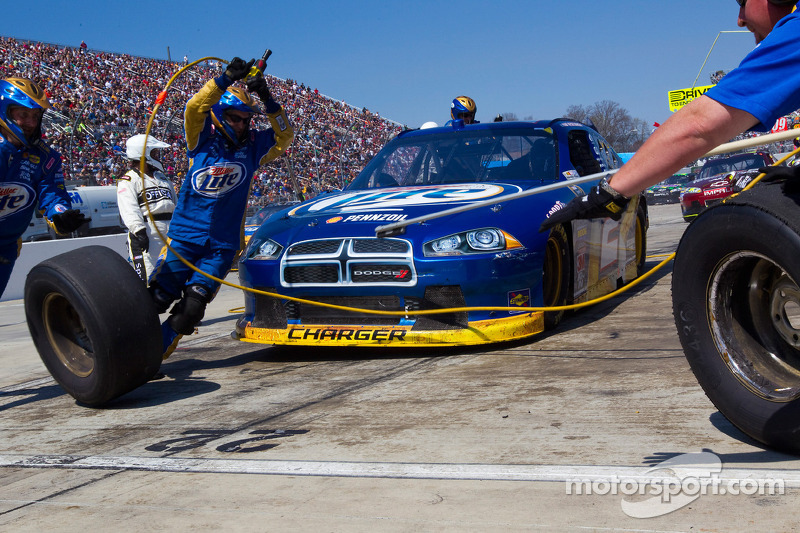 Brad Keselowski race report
