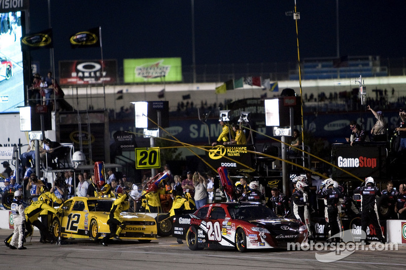 Toyota teams race notes, quotes