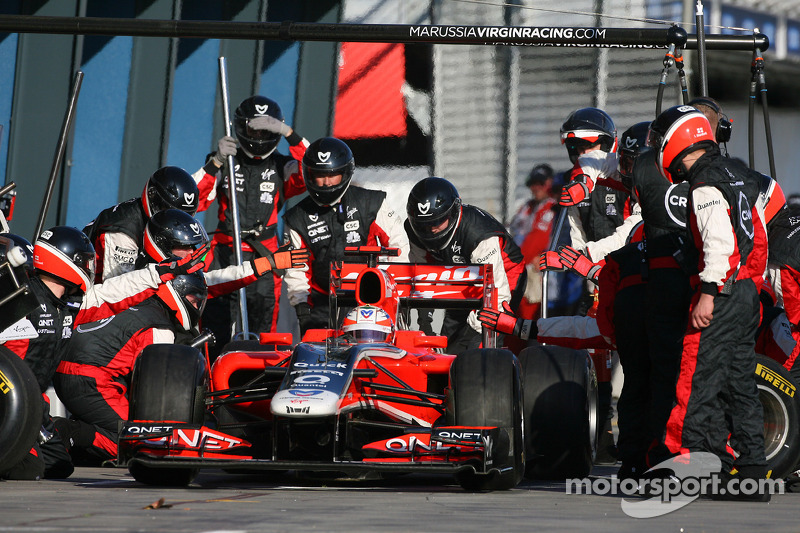 Marussia Virgin Race Report
