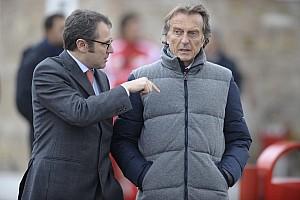 Montezemolo wants less aerodynamics in F1