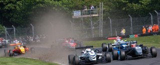 BF3 Christodoulou Cashes in on Magnussen's Mistake at Oulton