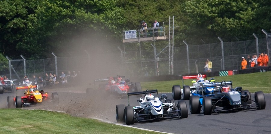 Christodoulou Cashes in on Magnussen's Mistake at Oulton