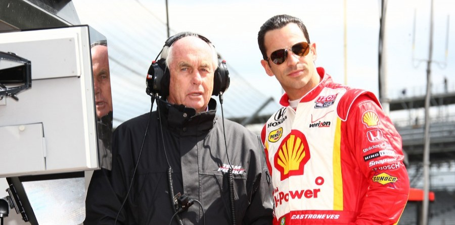 Team Penske Fast Friday At Indy Report