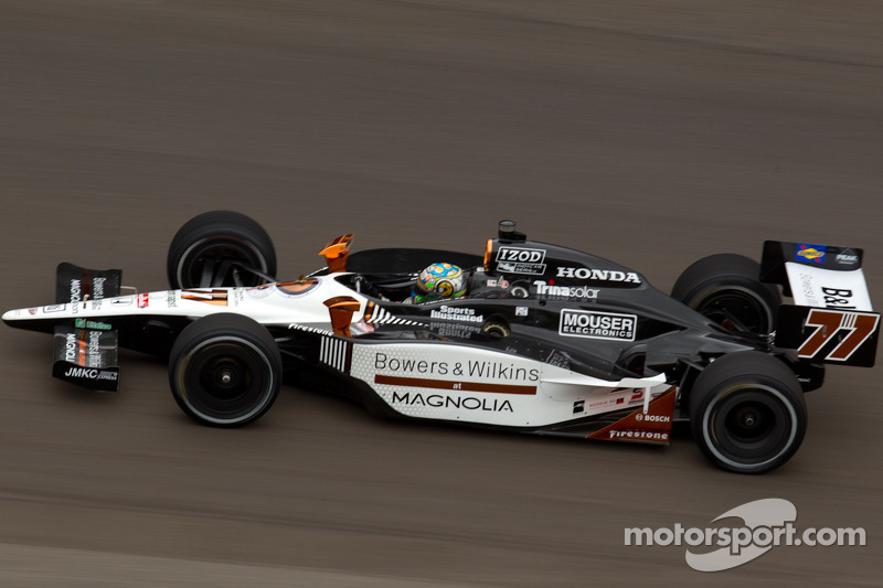 Sam Schmidt Motorsports Indy 500 Carb Day Report