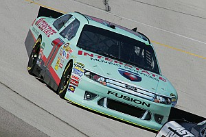 NASCAR Sprint Cup Andy Lally Kansas Qualifying Report