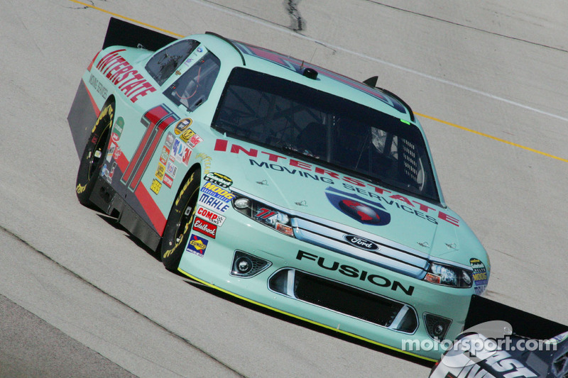 Andy Lally Kansas Qualifying Report