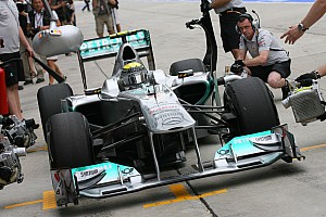 Mercedes loudest F1 car in 2011