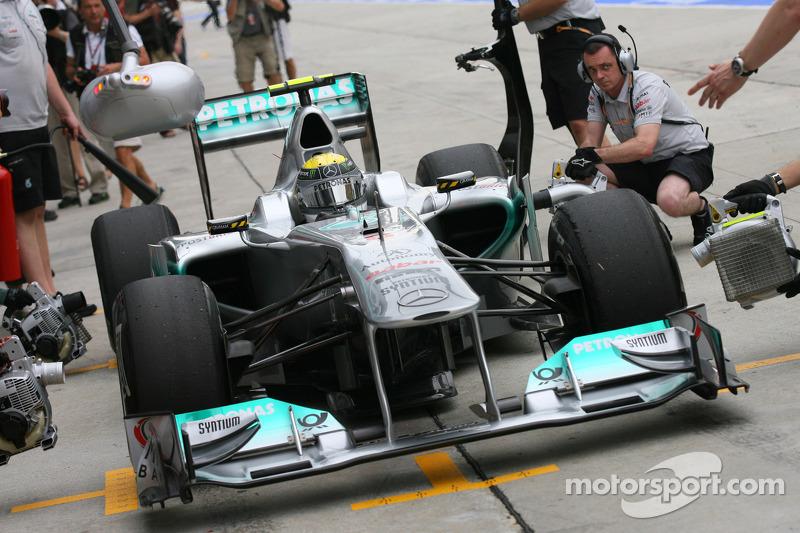 Mercedes loudest F1 car in 2011