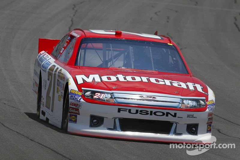 Trevor Bayne Michigan Race Report