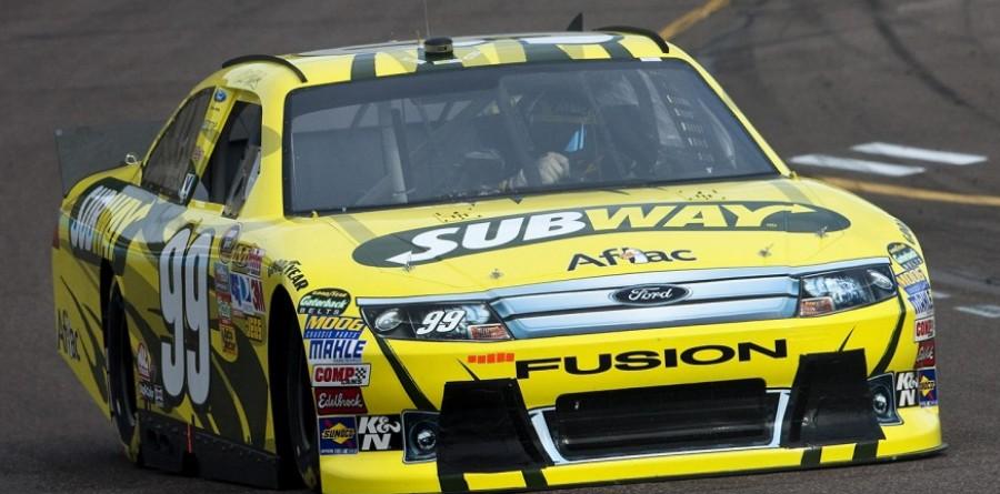 Carl Edwards - NASCAR Daytona 400 Media Visit