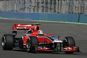 Marussia Virgin Drivers Prepared For British GP At Silverstone