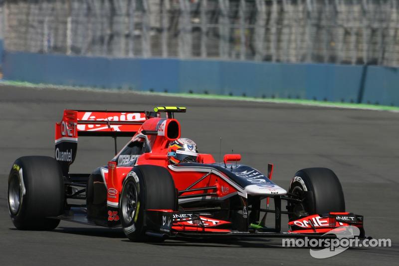 Marussia Virgin Drivers Prepared For British GP At Silverstone