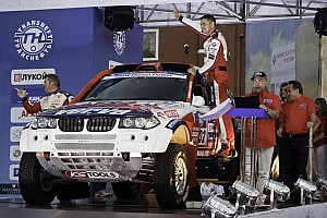 Cross-Country Rally BMW X-raid Dakar Series Silk Way Rally Day 1 Report