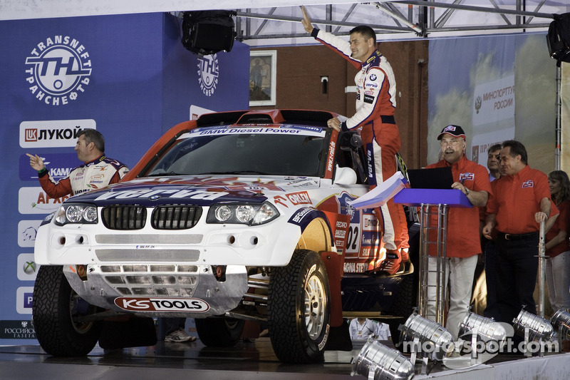 BMW X-raid Dakar Series Silk Way Rally Day 1 Report