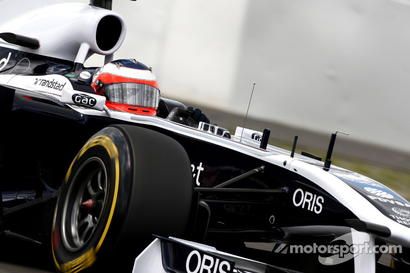 Williams Leave KERS Off Barrichello's Car