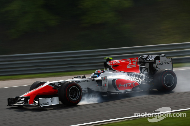 HRT Hungarian GP Qualifying Report