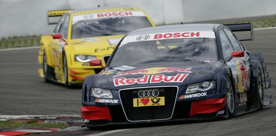 Audi In Command Of DTM Race At Nurburgring