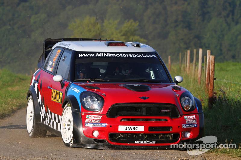 MINI Rallye Deutschland leg 2 summary