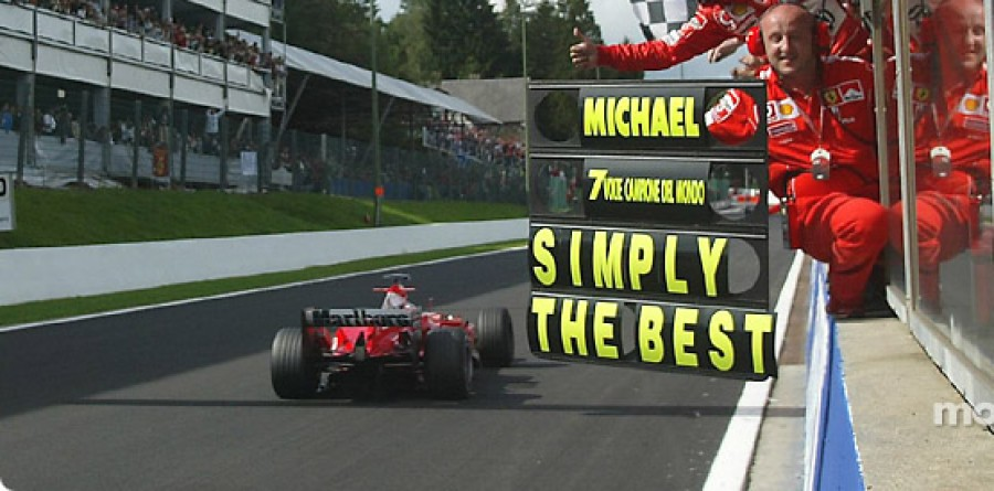 Michael Schumacher Q&A on 20 years of Formula One