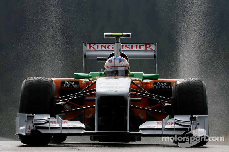 Force India Belgian GP - Spa qualifying report