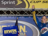 Keselowski drives to Sprint Cup win at Bristol 