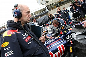 Newey 'has worked hard' on high-speed weakness