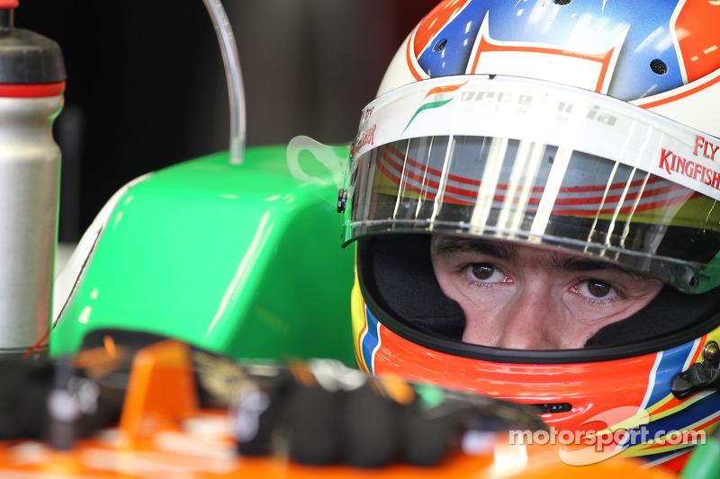 Force India Italian GP - Monza Friday practice report