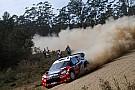 Petter Solberg Rally Australia leg 2 summary