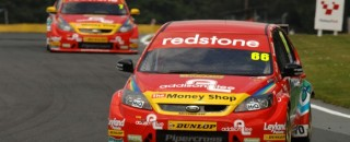 BTCC Caine gets 3rd Airwaves Racing Ford