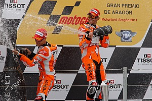 Bridgestone  Aragon GP race report