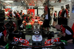 Marussia Virgin Singapore GP Friday practice report