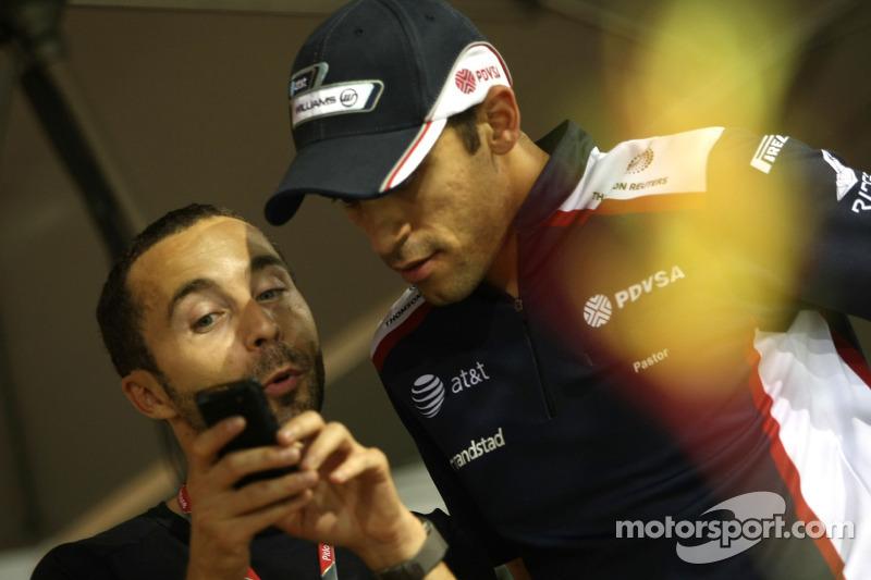 Williams Singapore GP qualifying report