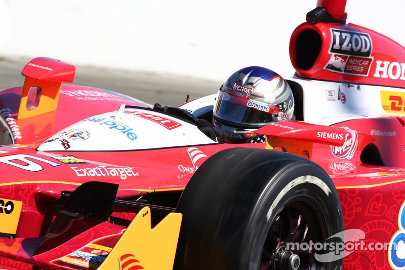 Andretti Autosport Kentucky qualifying report