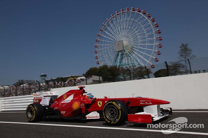 Ferrari Japanese GP - Suzuka race report