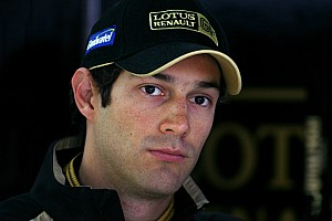 Lotus Renault's Bruno Senna about the Korean GP at Yeongam