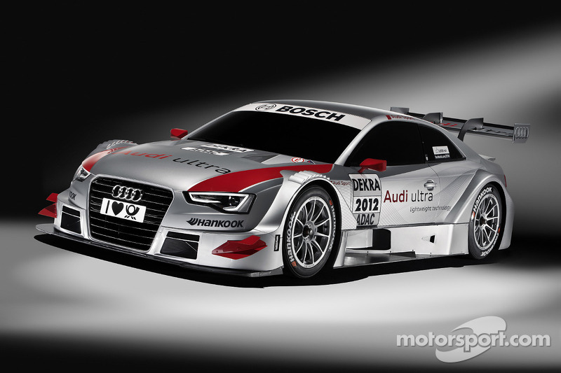 Tom Kristensen in the new Audi A5 DTM during season finale at Hockenheim