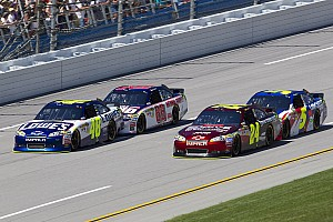NASCAR Sprint Cup Series teams Talladega EFI test notes