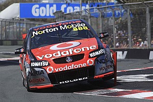 V8 Supercars TeamVodafone Gold Coast practice report