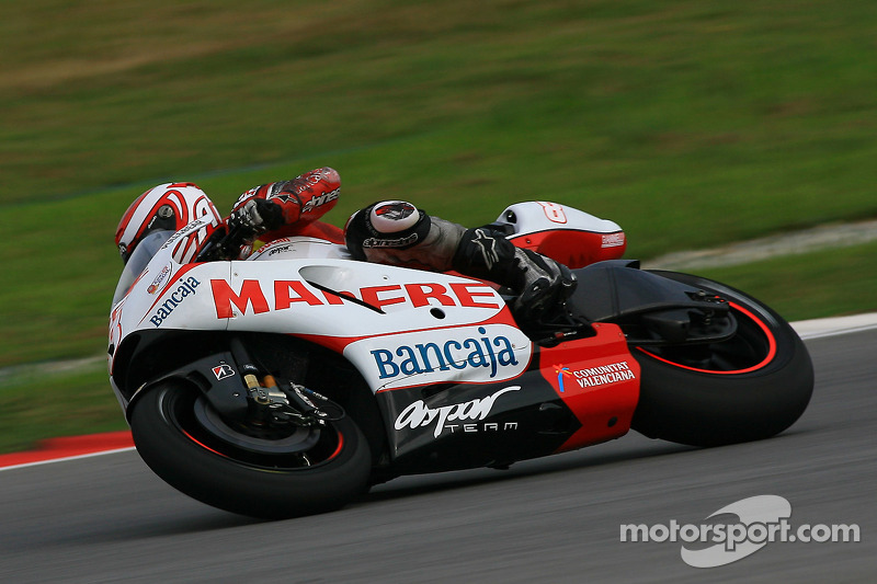 Asapr Malaysian GP Friday practice report