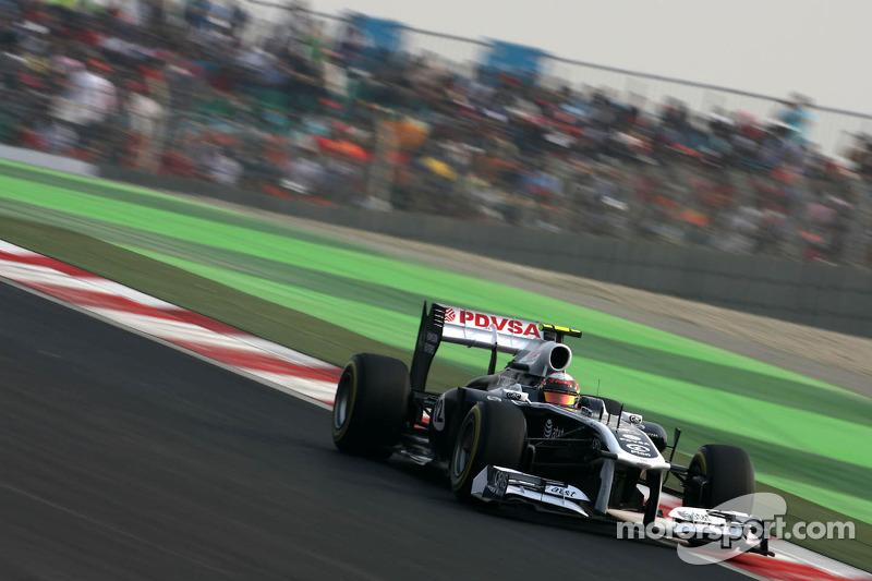 Williams Indian GP race report
