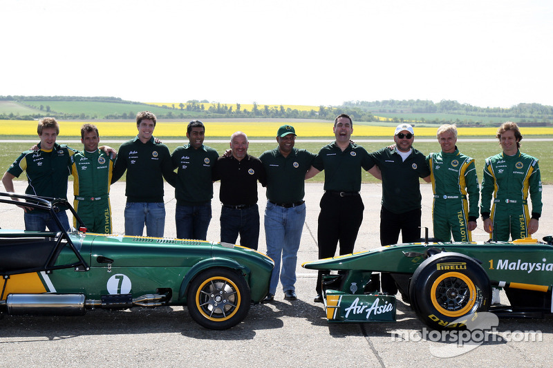 Caterham to keep green and yellow Lotus livery