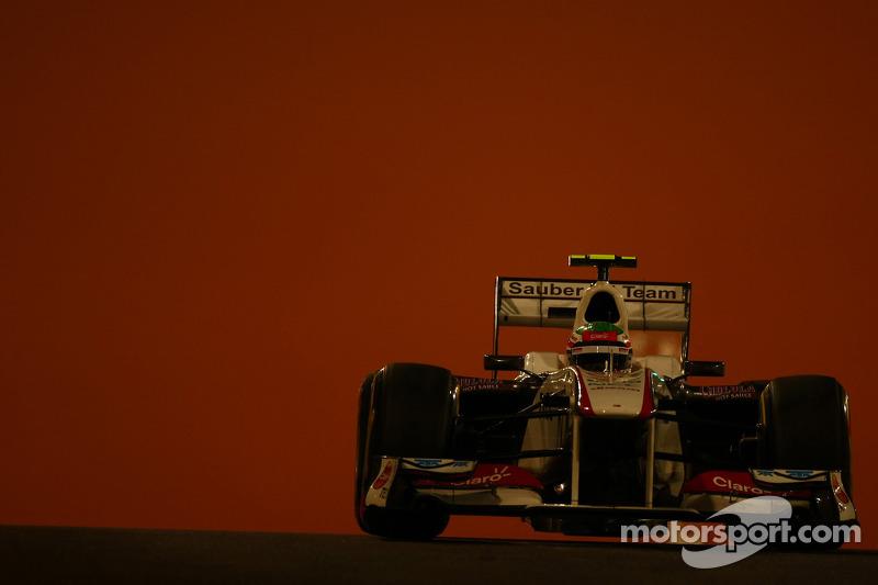 Sauber Abu Dhabi GP Friday practice report