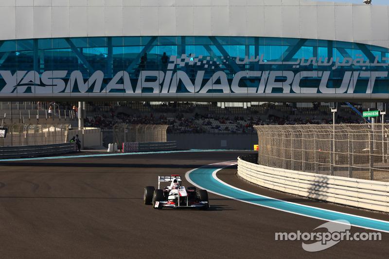 Sauber Abu Dhabi GP qualifying report